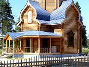 Церковь Покрова Пресвятой Богородицы (старая) - Адищево - Островский район - Костромская область