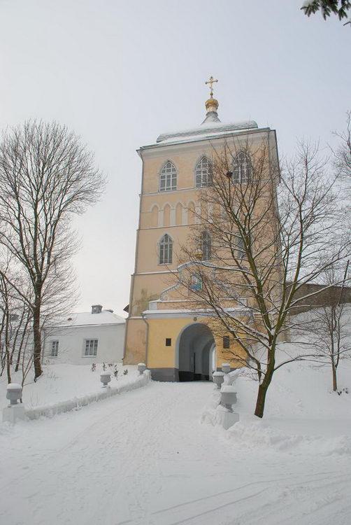 Украина, Ровненская область, Здолбуновский район, Дермань 2-я. Троицкий Дерманский женский монастырь, фотография. фасады