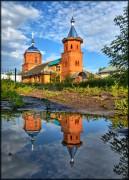 Курск. Троицы Живоначальной в посёлке Аккумулятор, церковь