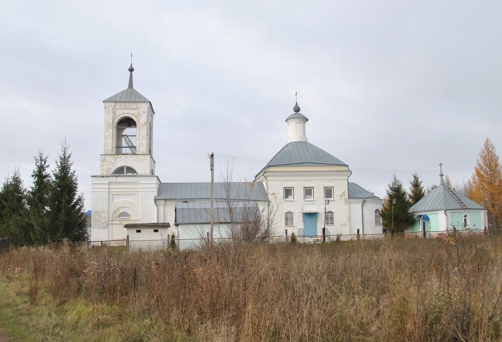 Тульская область, Ефремов, город, Мечнянка. Церковь Николая Чудотворца, фотография. фасады