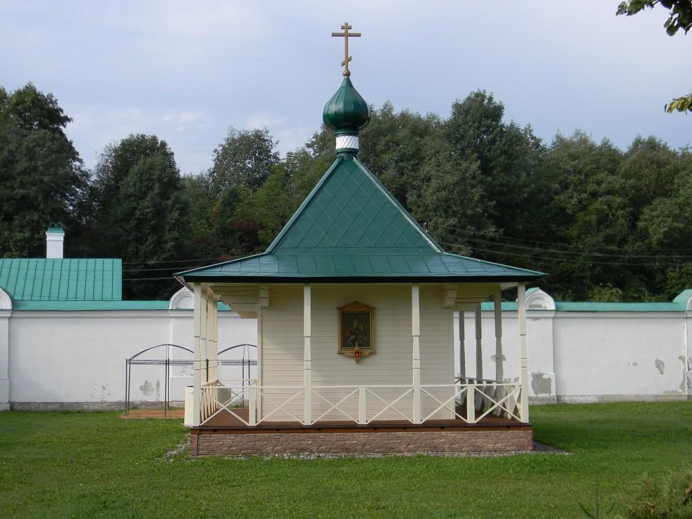 Никольский мужской монастырь. Часовня Тихвинской иконы Божией Матери, Старая Ладога