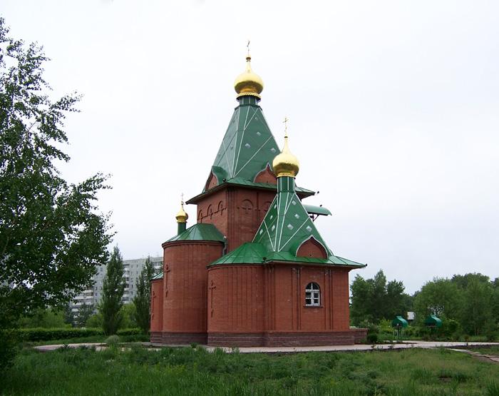 Церковь Спаса Нерукотворного Образа, Омск