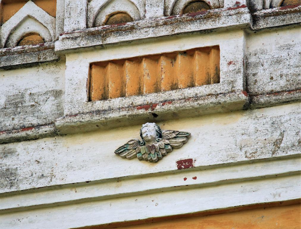 Кировская область, Лузский район, Верхне-Лалье. Церковь Михаила Архангела, фотография. архитектурные детали