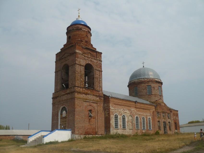 Церковь Покрова Пресвятой Богородицы, Ольховка