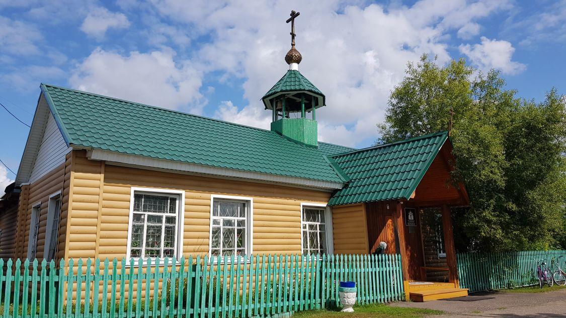 Церковь Троицы Живоначальной (временная), Казачинское
