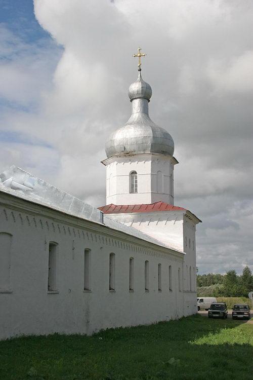 Юрьев мужской монастырь. Церковь Алексия, митрополита Московского, Юрьево