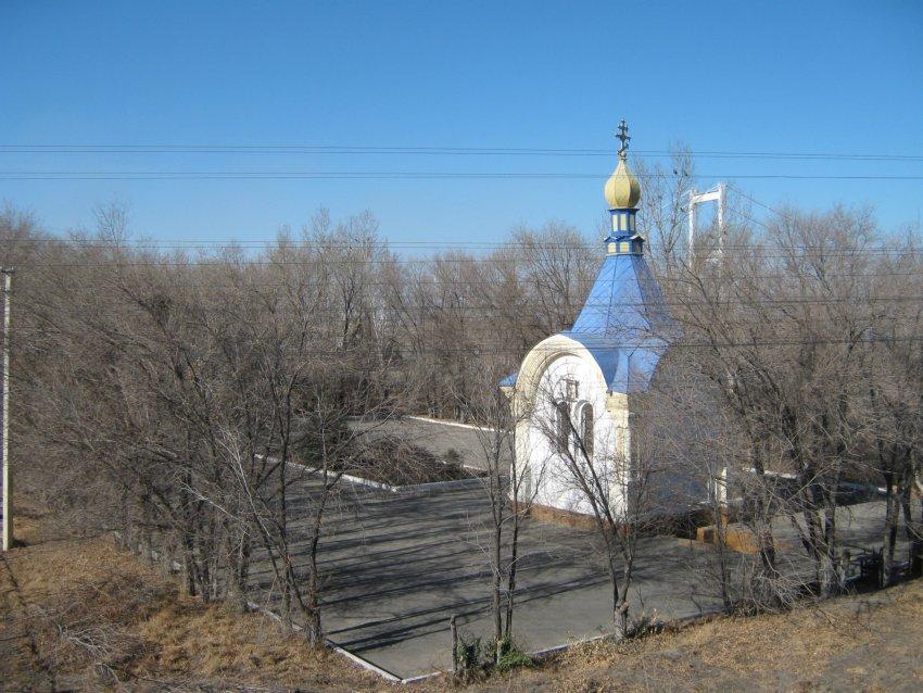 Казахстан, Восточно-Казахстанская область, Семей (Семипалатинск). Часовня Николая Чудотворца, фотография. фасады