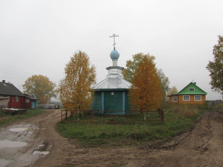 Часовня Троицы Живоначальной, Кожаево