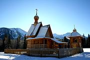 Церковь Смоленской иконы Божией Матери - Климовка, база отдыха - Восточно-Казахстанская область - Казахстан