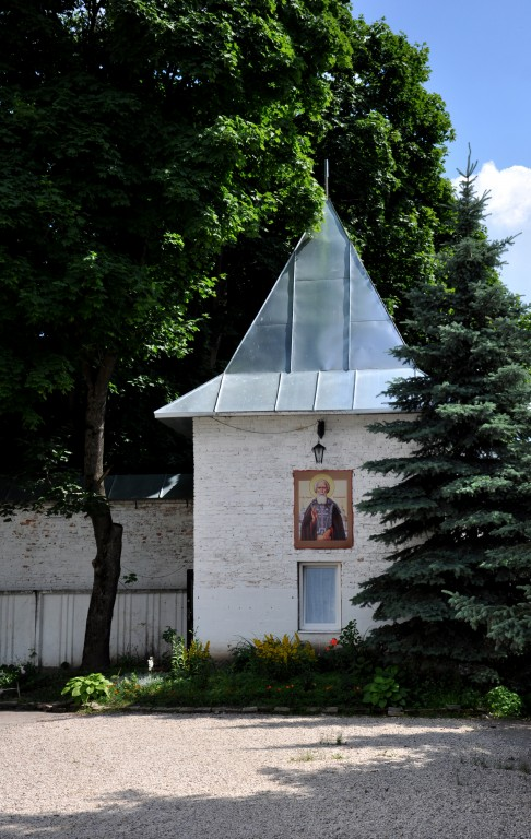 Тульская область, Новомосковск, город, Новомосковск. Успенский мужской монастырь, фотография. архитектурные детали