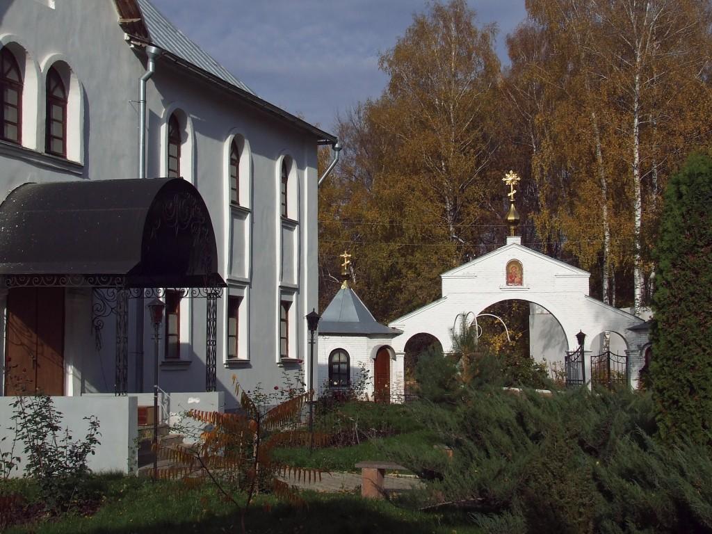 Тульская область, Новомосковск, город, Новомосковск. Успенский мужской монастырь, фотография. фасады