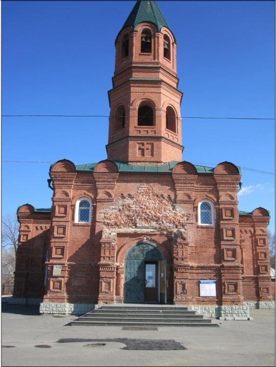 Приморский край, Артём, город, Угловое. Церковь Покрова Пресвятой Богородицы, фотография. фасады