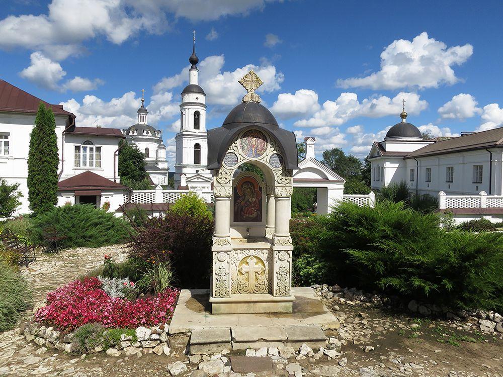 Николаевский Черноостровский монастырь. Часовня иконы Божией Матери
