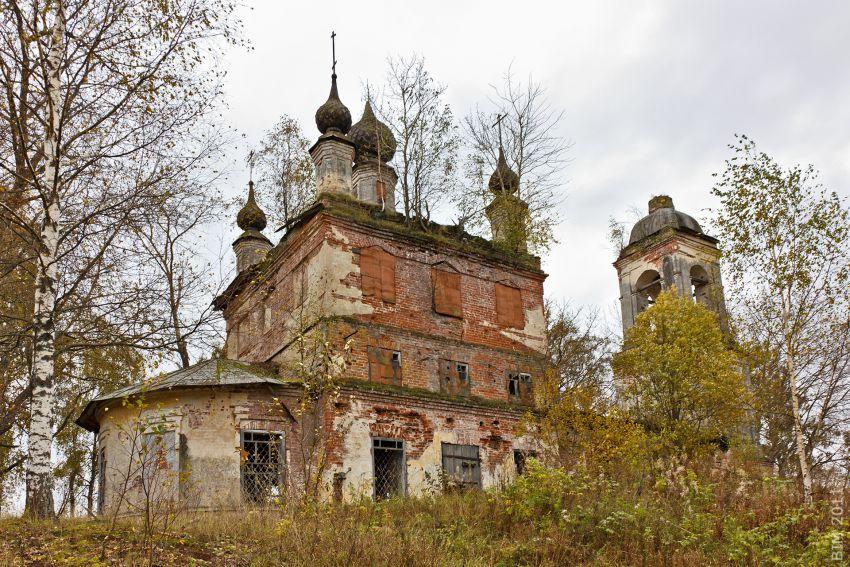 Церковь Георгия Победоносца, Обнорское