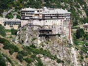 Афон (Ἀθως). Монастырь Симонопетр