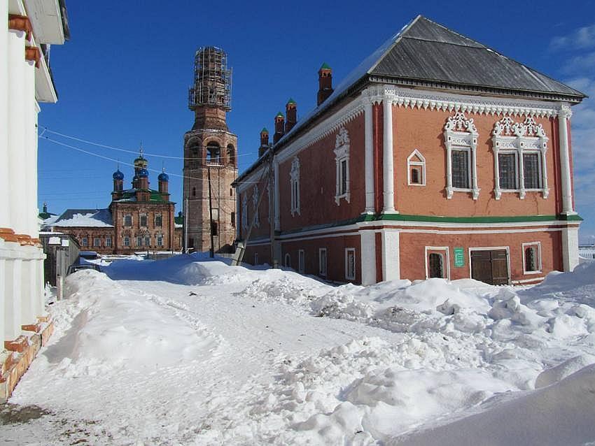 Пермский край, Усольский район, Усолье. Спасо-Преображенский женский монастырь, фотография. фасады, вид с юга