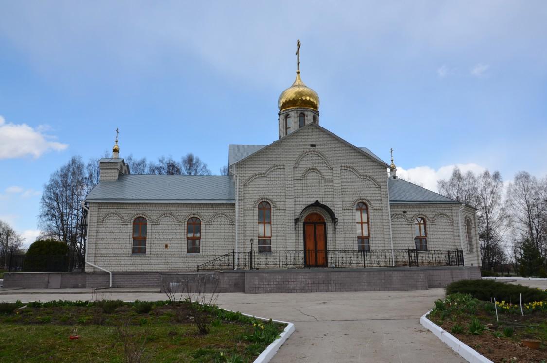 Курская область, Железногорский район, Студенок. Церковь иконы Божией Матери