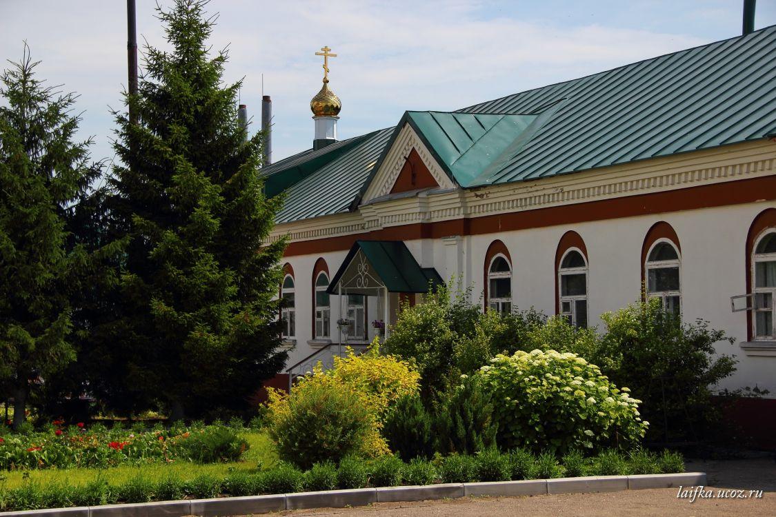 Троице-Сканов женский монастырь. Церковь Усекновения главы Иоанна Предтечи, Сканово