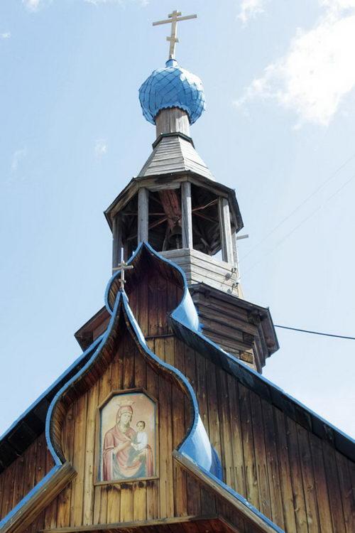 Пермский край, Пермь, город, Верхняя Курья. Богоявленский мужской монастырь. Церковь иконы Божией Матери