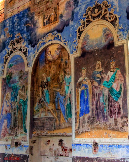 Тверская область, Андреапольский район, Горки (Погост Жукопа). Церковь Богоявления Господня, фотография. интерьер и убранство