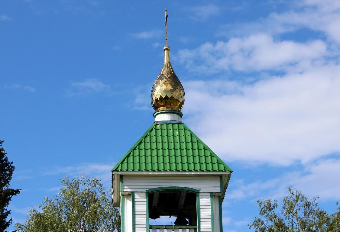Республика Коми, Прилузский район, Спаспоруб. Церковь Троицы Живоначальной, фотография. архитектурные детали