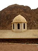 Церковь Иоанна Предтечи при пещере Иоанна Лествичника - Синайский полуостров - Египет - Прочие страны