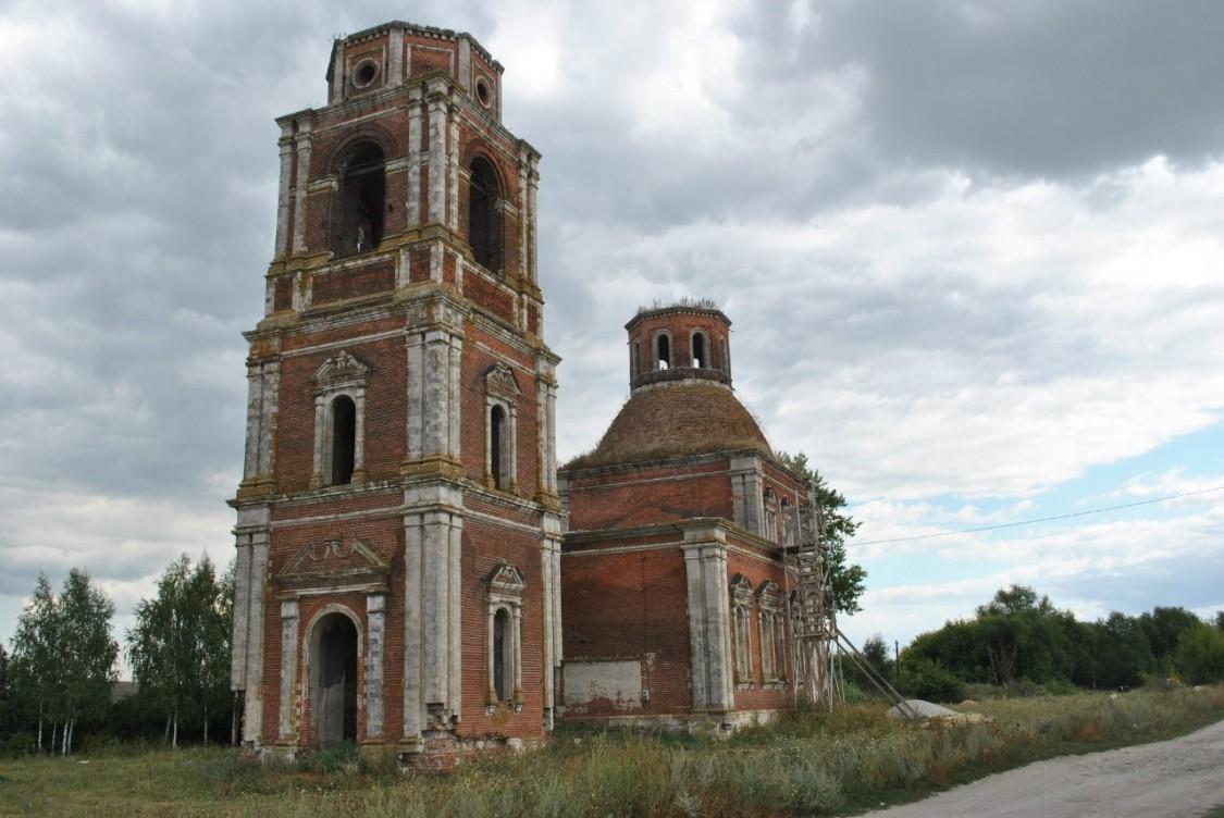 Церковь Покрова Пресвятой Богородицы-Стублё-Михайловский район-Рязанская область