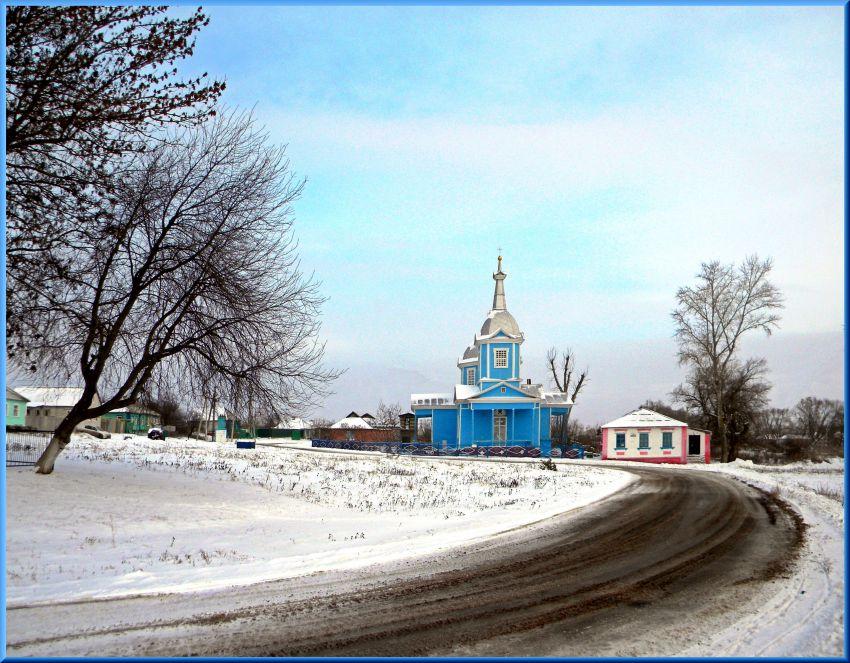 Церковь Рождества Пресвятой Богородицы-Крюково-Яковлевский район-Белгородская область