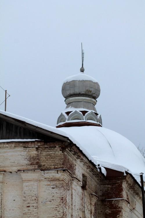 Пермский край, Карагайский район, Нердва. Церковь Василия Великого, фотография. фасады