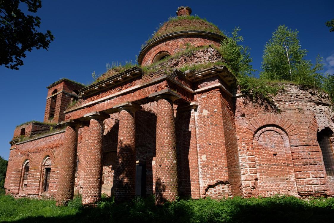Церковь Николая Чудотворца, Осово