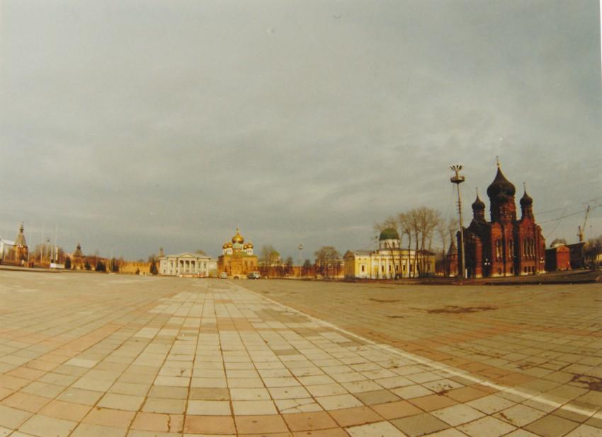 Тульская область, Тула, город, Тула. Кремль, фотография. общий вид в ландшафте