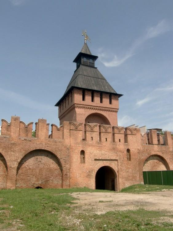 Тульская область, Тула, город, Тула. Кремль, фотография. фасады, Башня Пятницких ворот