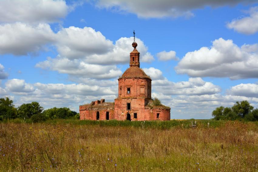 Церковь Спаса Нерукотворного Образа-Серзево-Кораблинский район-Рязанская область