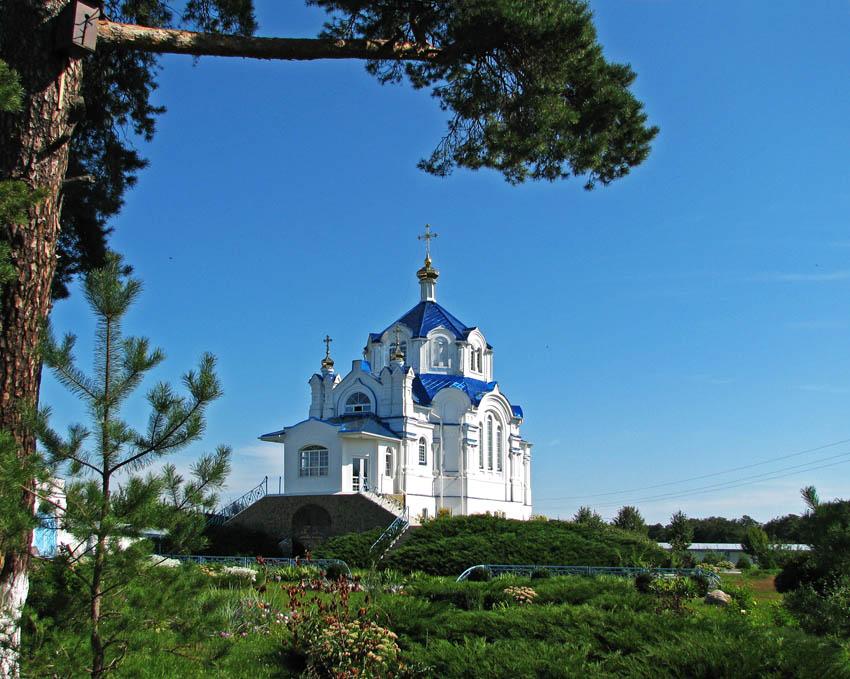 Спасо-Преображенский Мгарский монастырь. Церковь Благовещения Пресвятой Богородицы, Мгарь