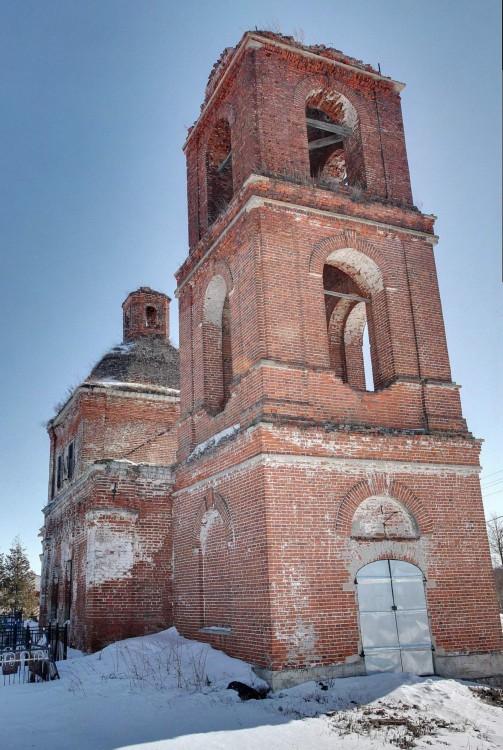 Церковь Казанской Иконы Божией Матери, Растовцы