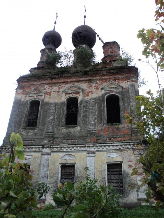 Церковь Воскресения Христова, Сотьма