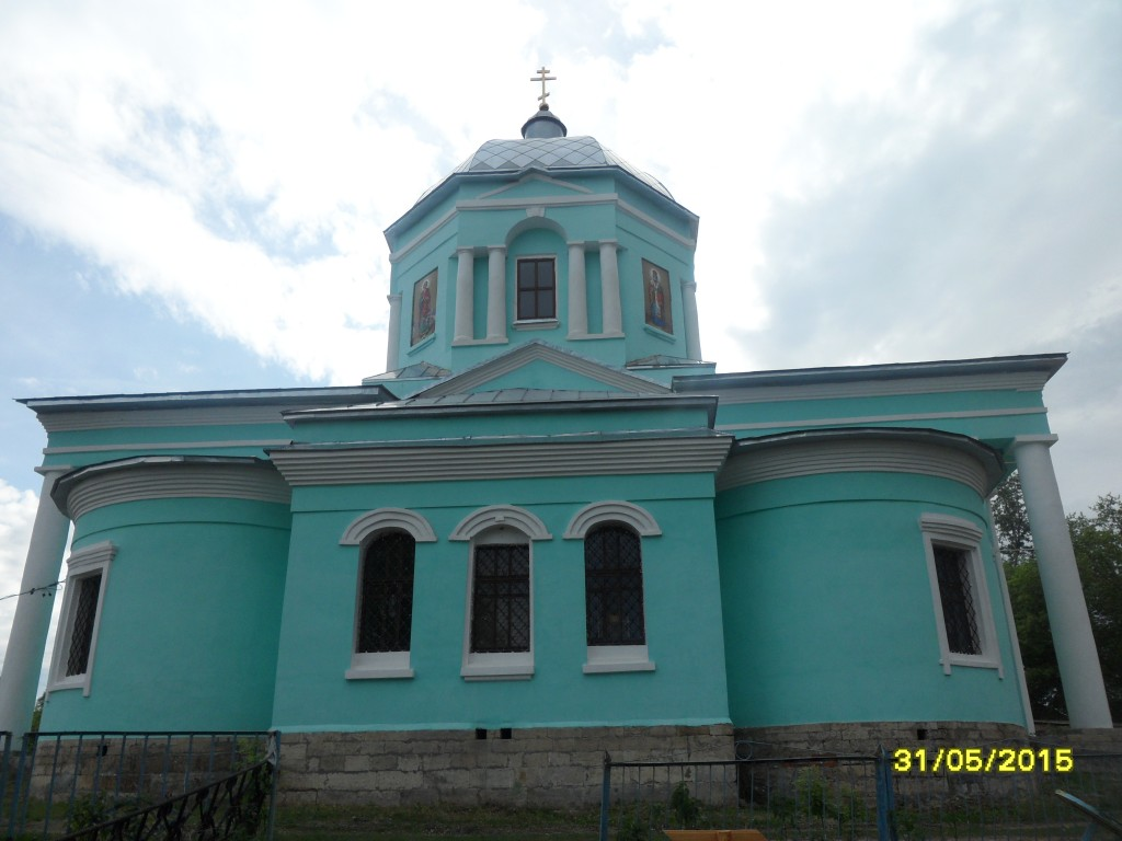Церковь Троицы Живоначальной, Волотово