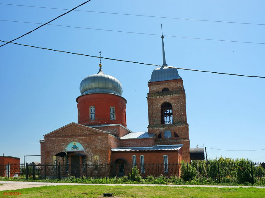 Церковь Воздвижения Креста Господня, Воскресеновка