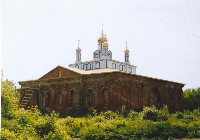 Церковь Николая Чудотворца, Журавинка
