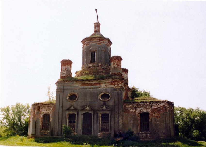 Церковь Спаса Нерукотворного Образа, Зезюлино