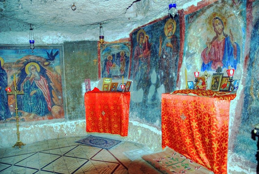 Церковь Илии Пророка, Иудейская пустыня, Вади Кельт (Нахаль Прат)