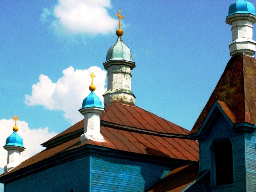Курская область, Обоянский район, Трубеж. Церковь Михаила Архангела, фотография. архитектурные детали