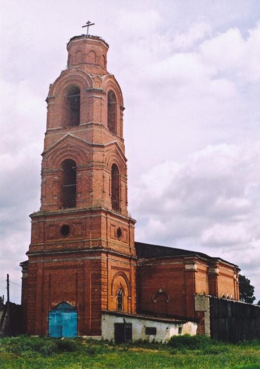Рязанская область, Скопинский район и г. Скопин, Муравлянка. Церковь Димитрия Солунского, фотография. фасады