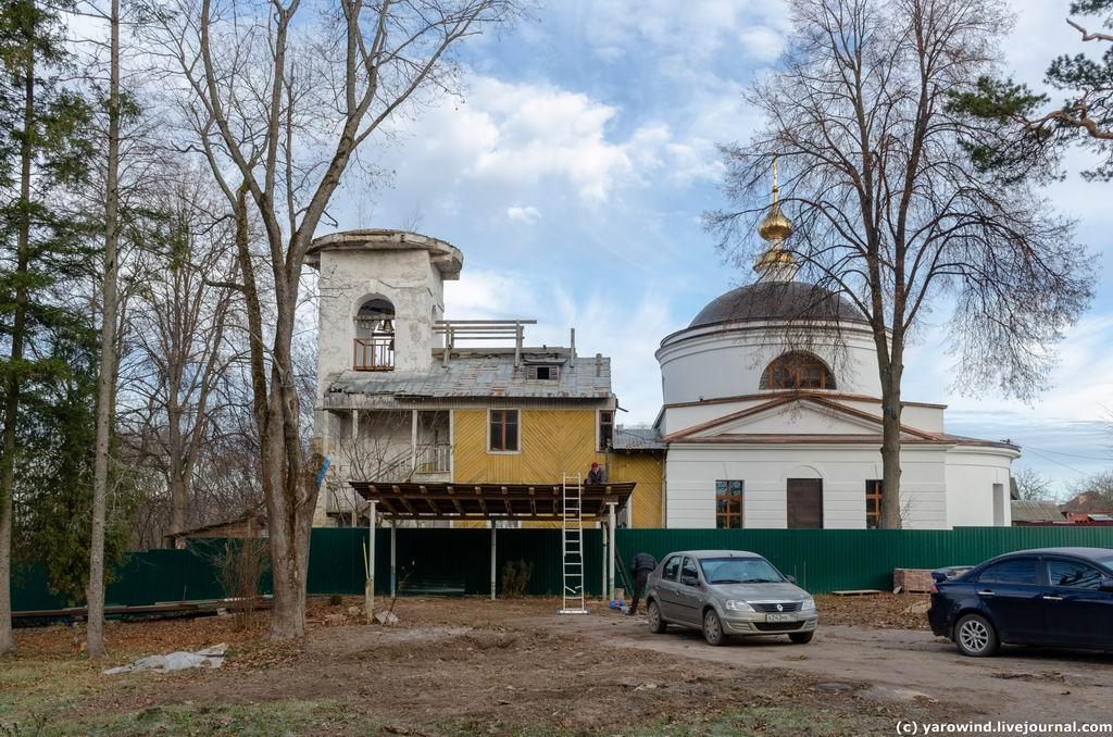 Церковь Спаса Преображения, Нестерово