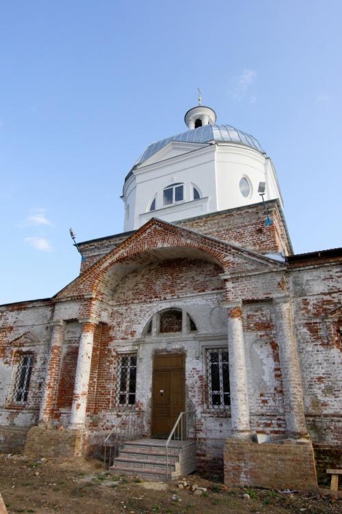Церковь Казанской иконы Божией Матери, Заячий Холм