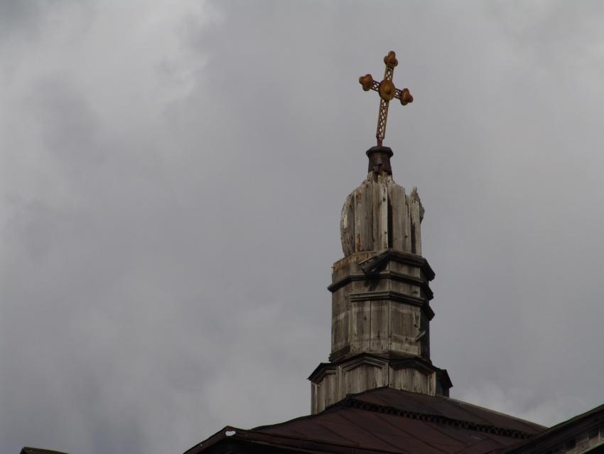 Тюменская область, Вагайский район, Сычево. Церковь Александра Невского, фотография. архитектурные детали