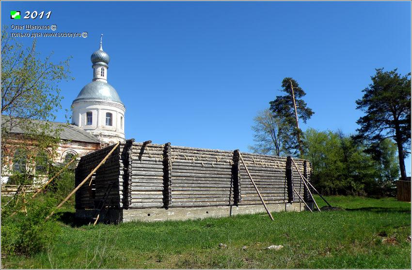 Неизвестная церковь (строящаяся), Новоклязьменское