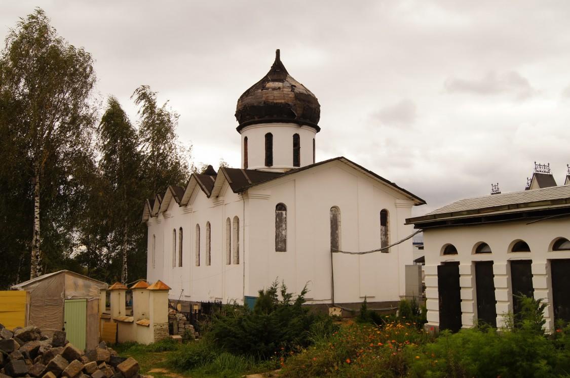 Церковь Паисия Великого, Михайловская Слобода