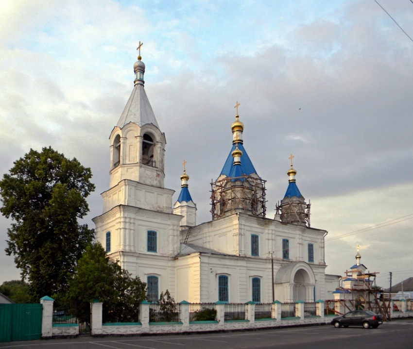 Церковь Спаса Преображения, Замостье
