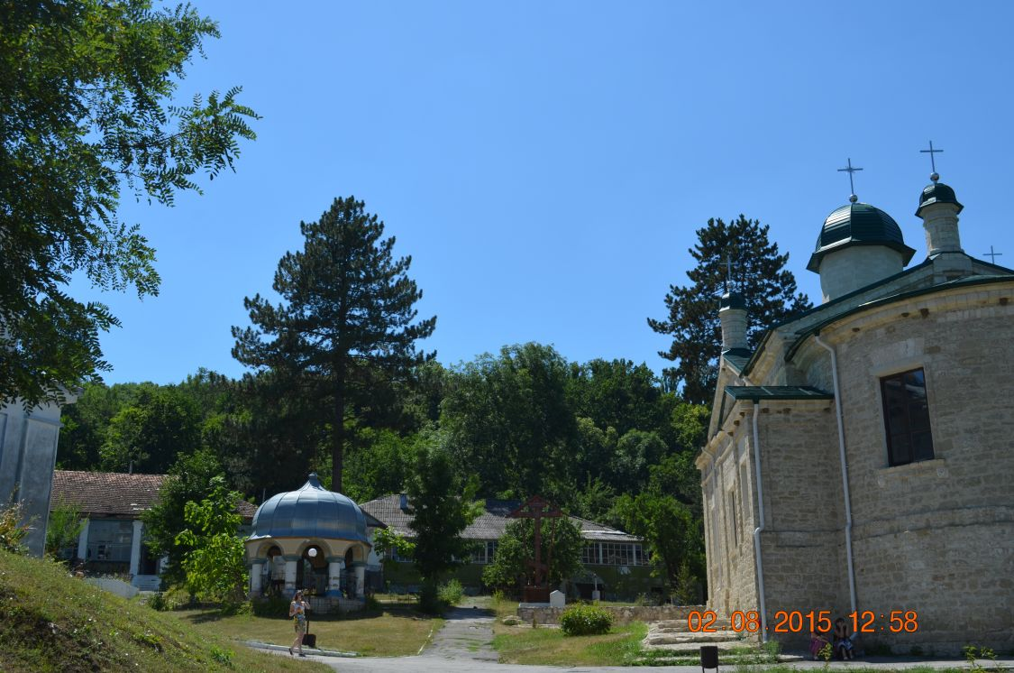 Молдова, Кишинёв, Кондрица. Никольский мужской монастырь, фотография. фасады